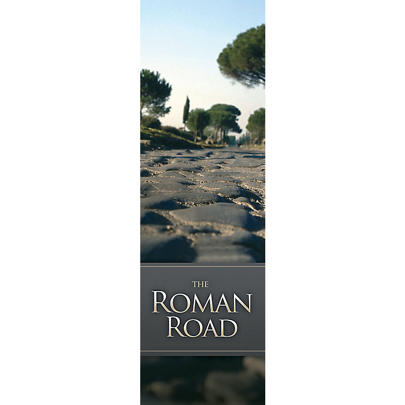 picture relating to Romans Road Kjv Printable known as Roman Highway - Bookmark (Pkg 25) Overall Worship