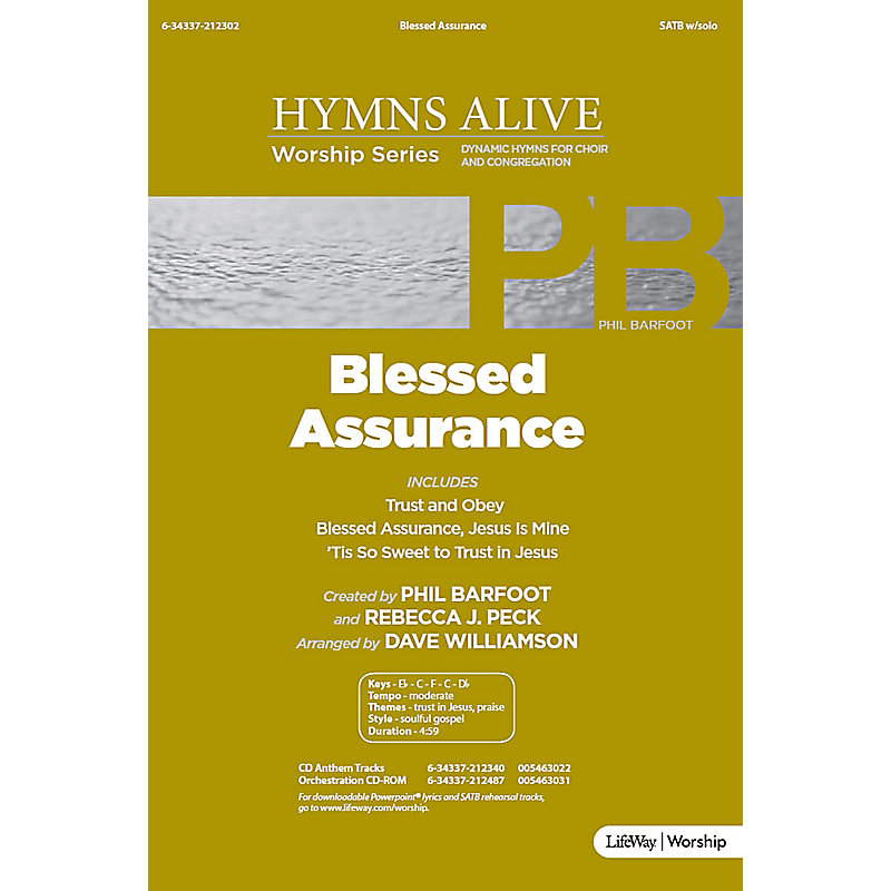 Blessed Assurance - Downloadable Listening Track