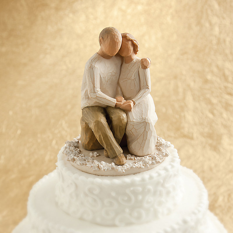 willow tree anniversary cake topper lifeway