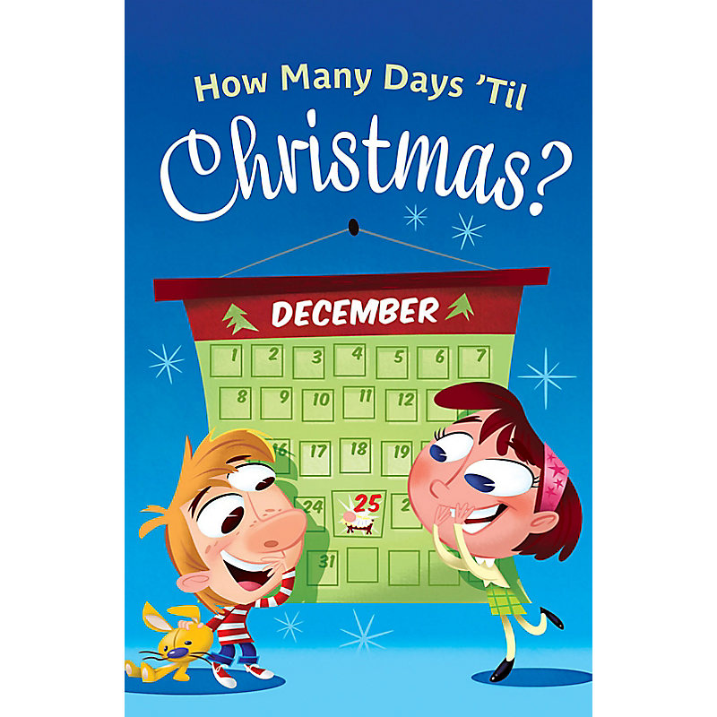 How Many Days 'Til Christmas? Tract