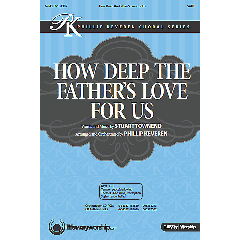 How Deep the Father's Love for Us - Downloadable Listening Track