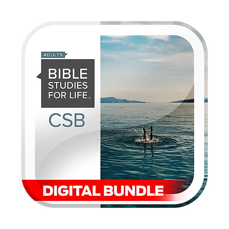 Bible Studies for Life: Advanced Bible Study - Fall 2020 - Digital
