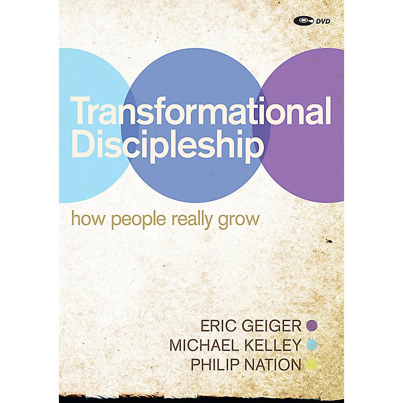 Transformational Discipleship DVD