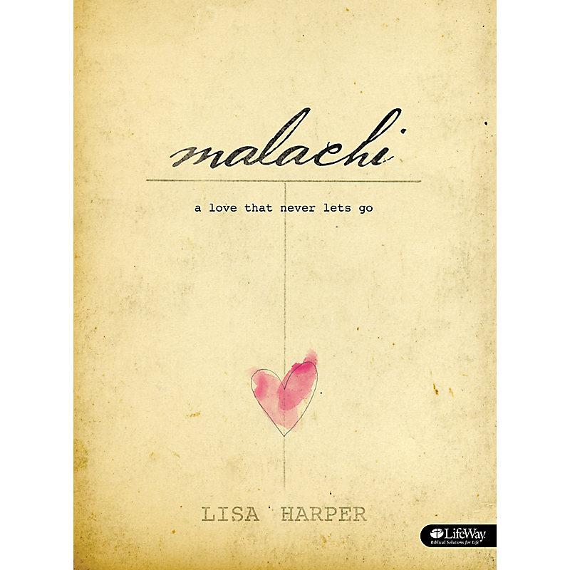 Malachi - Bible Study Book