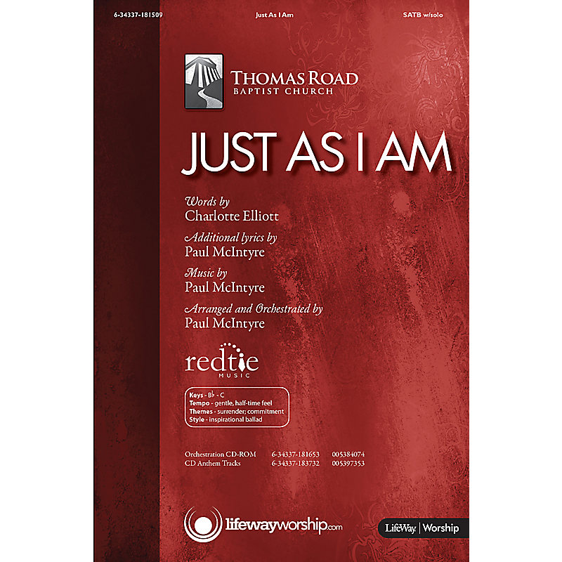 Just As I Am - Downloadable Listening Track - LifeWay
