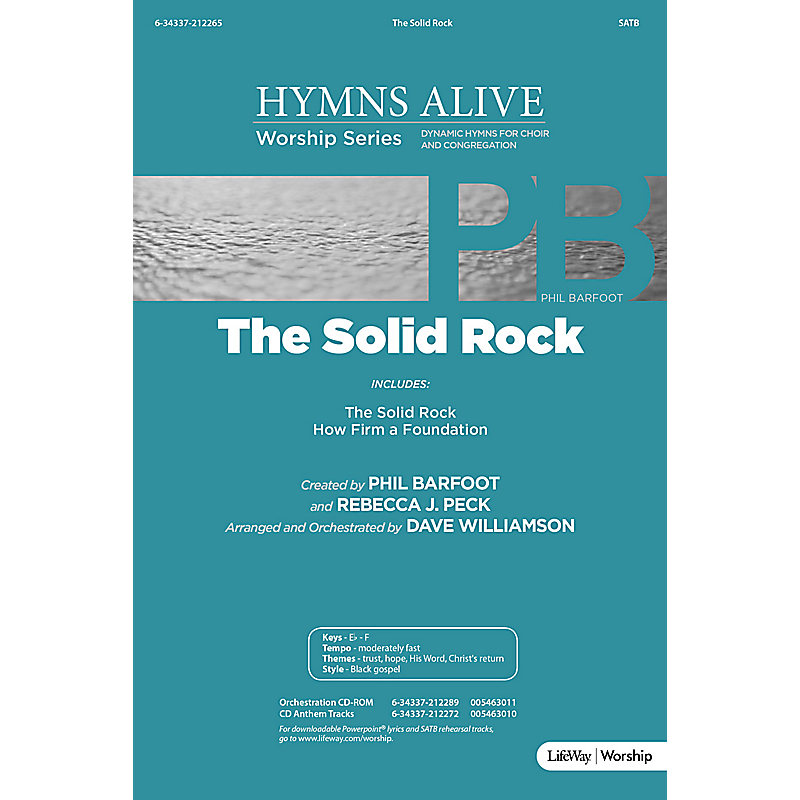 The Solid Rock - Downloadable PowerPoint Presentation
