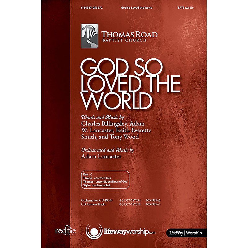 God So Loved the World - Downloadable Listening Track