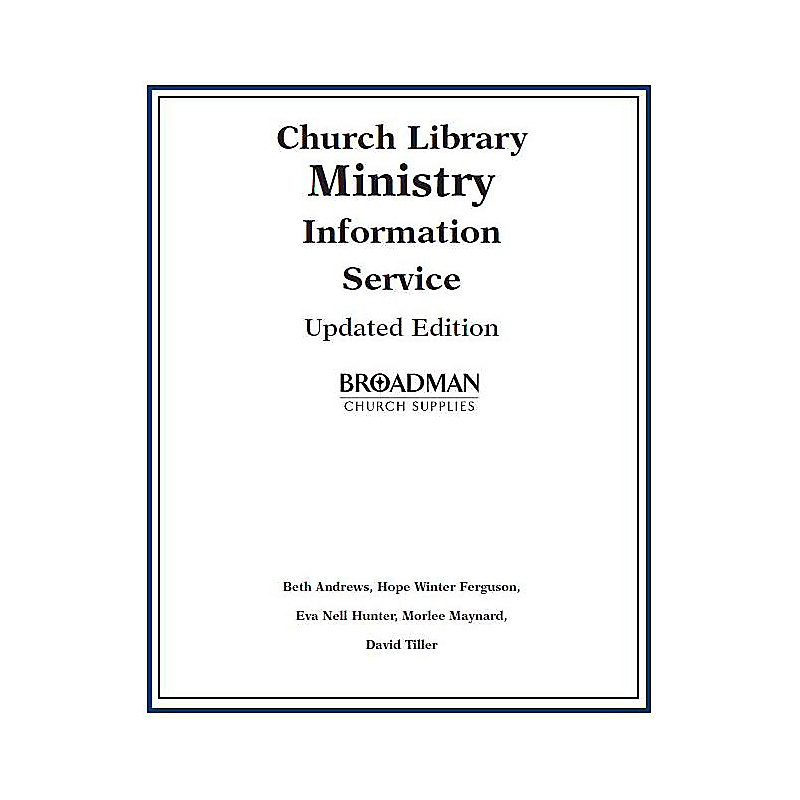 Church Library Ministry Information Service