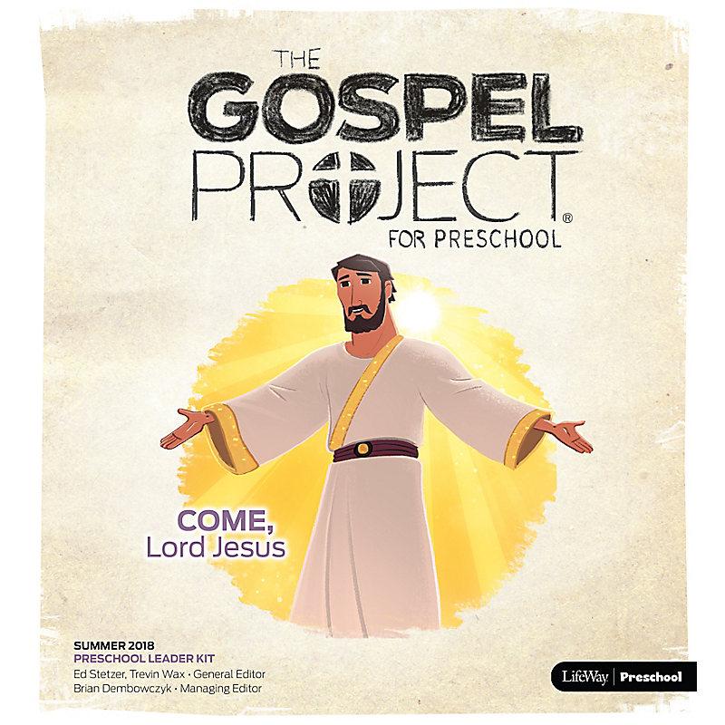 The Gospel Project for Preschool: Preschool Leader Kit Summer 2018