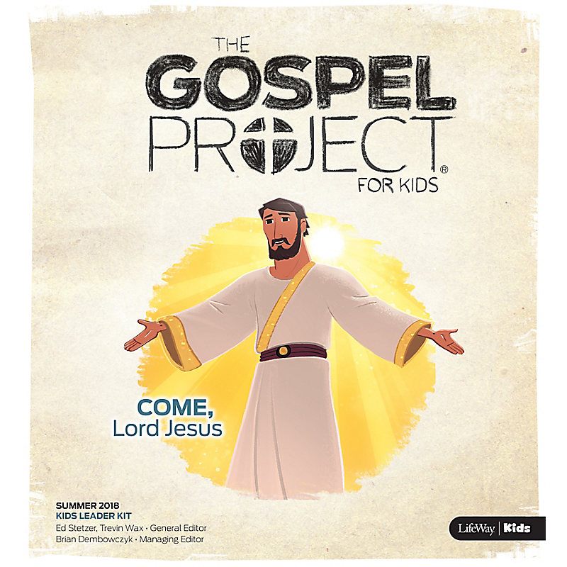 The Gospel Project for Kids: Kids Leader Kit Summer 2018
