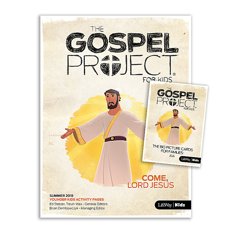The Gospel Project for Kids: Younger Kids Activity Pack Summer 2018