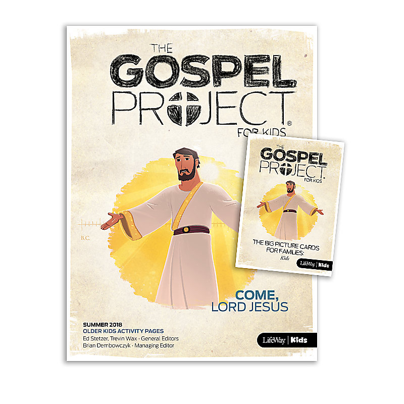 The Gospel Project for Kids: Older Kids Activity Pack Summer 2018
