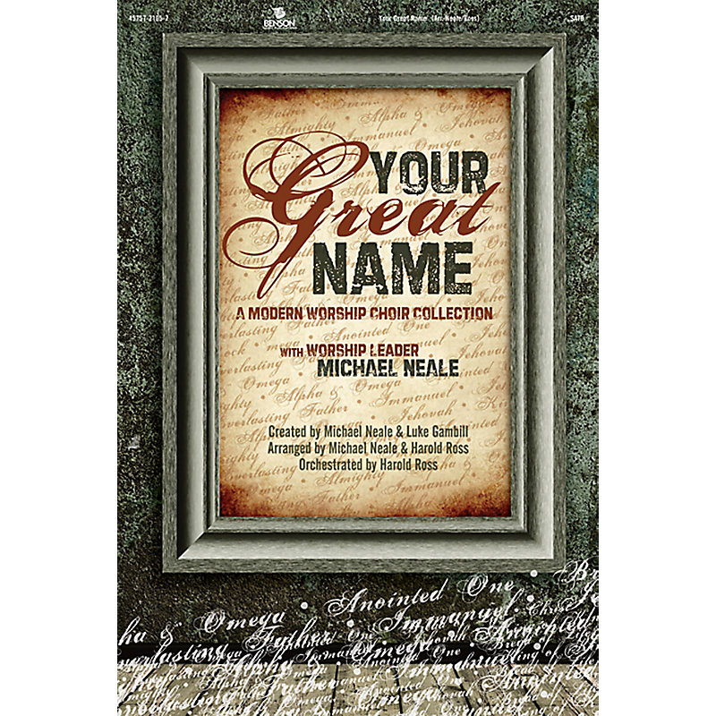 Your Great Name: Choral Book