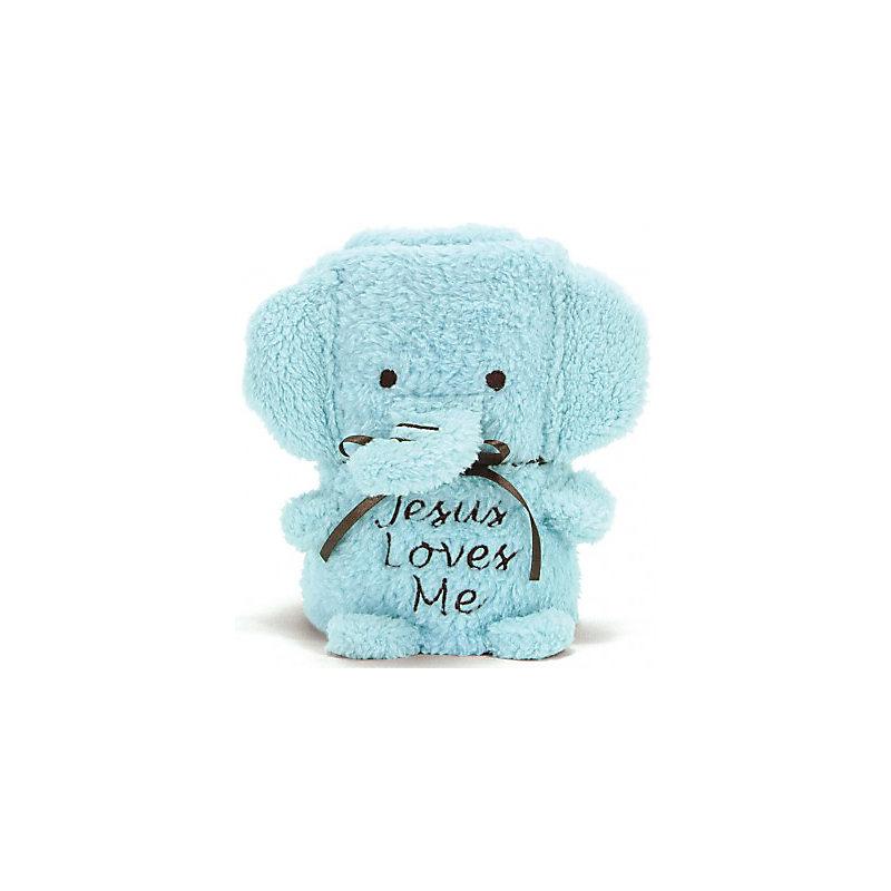 Elephant Blankie Blue Baby Boy Lifeway