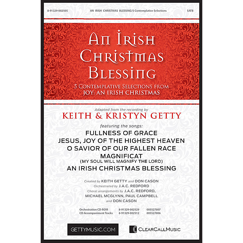An Irish Christmas Blessing - Choral Book - LifeWay