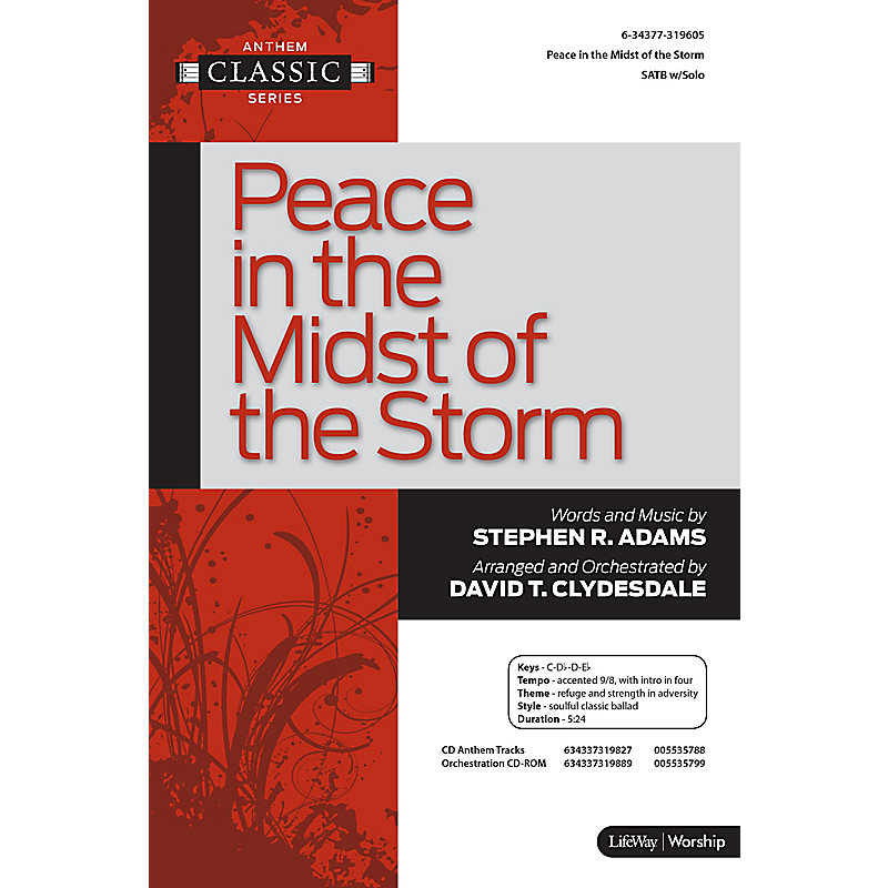 Peace in the Midst of the Storm - Anthem (Min. 10)