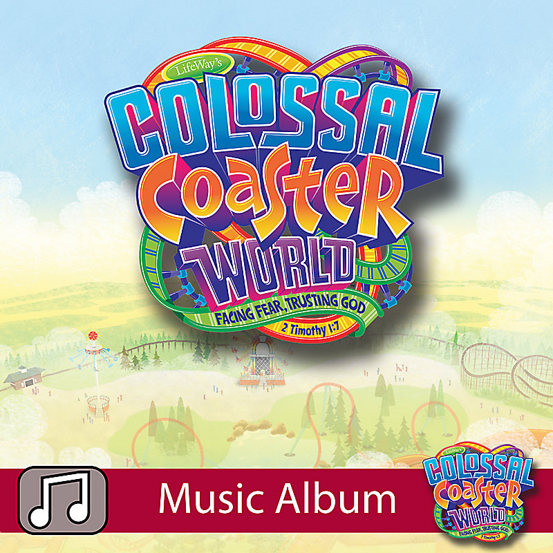 LifeWay Kids Worship: Colossal Coaster World - Audio Music Album