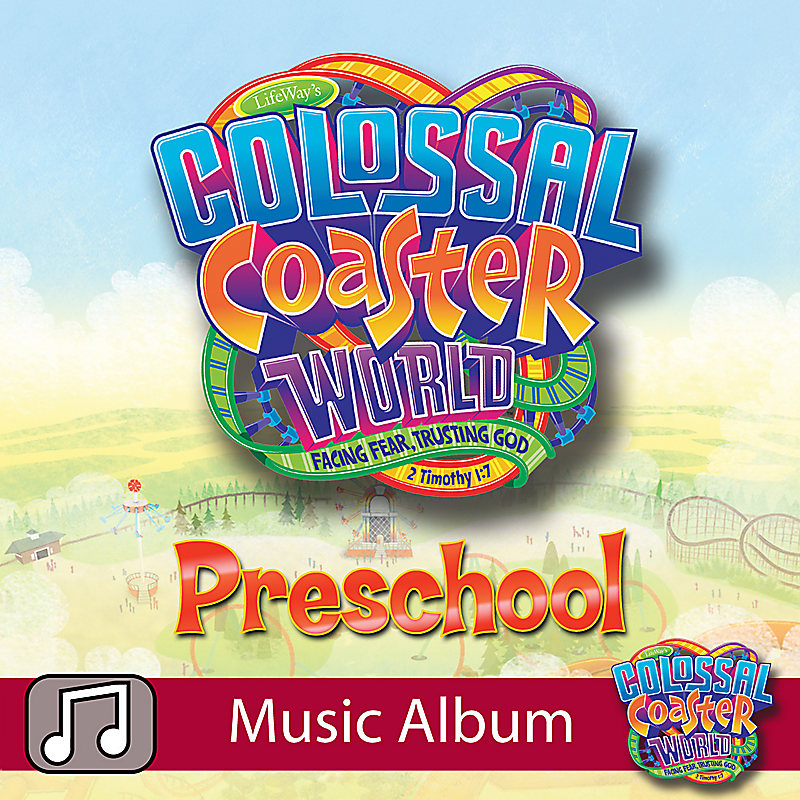 LifeWay Kids Worship: Colossal Coaster World (Preschool) - Audio Music Album