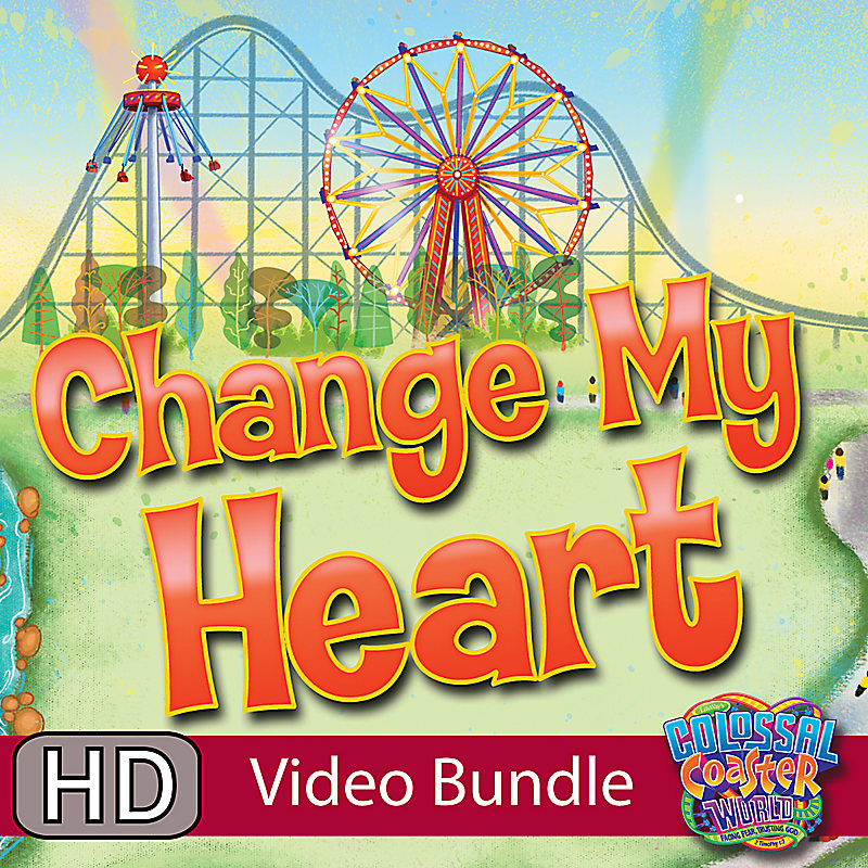 LifeWay Kids Worship: Change My Heart - Video Bundle
