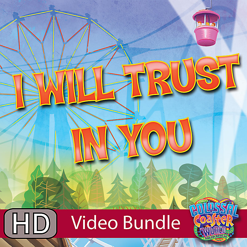 LifeWay Kids Worship: I Will Trust You - Music Video Bundle