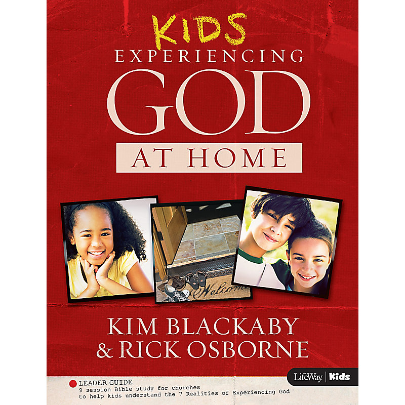 Kids Experiencing God at Home - Kids Edition Leader Guide