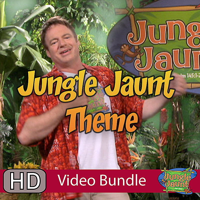 Club VBS 2013: Jungle Jaunt Theme Song - Video Bundle