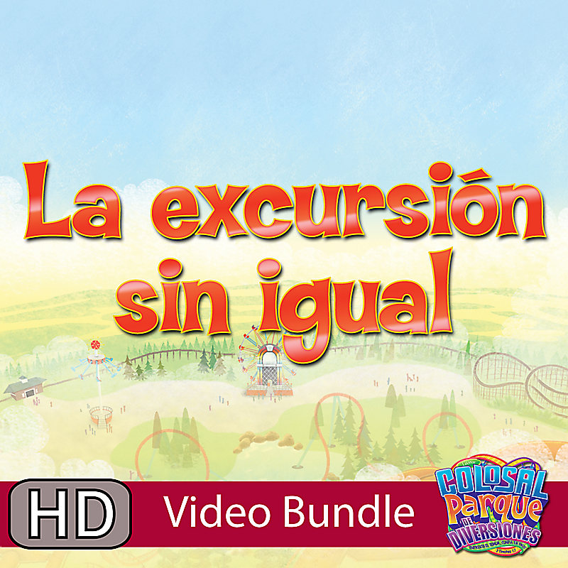 VBS 2013: La Excursion Sin Igual - (Spanish)