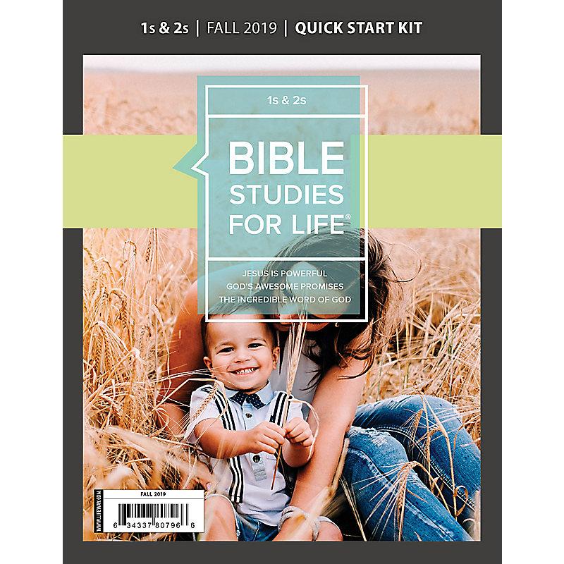Bible Studies For Life: 1s & 2s Quick Start Kit Fall 2019