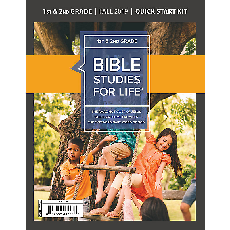 Bible Studies For Life: Kids Grades 1-2 Quick Start Kit Fall 2019