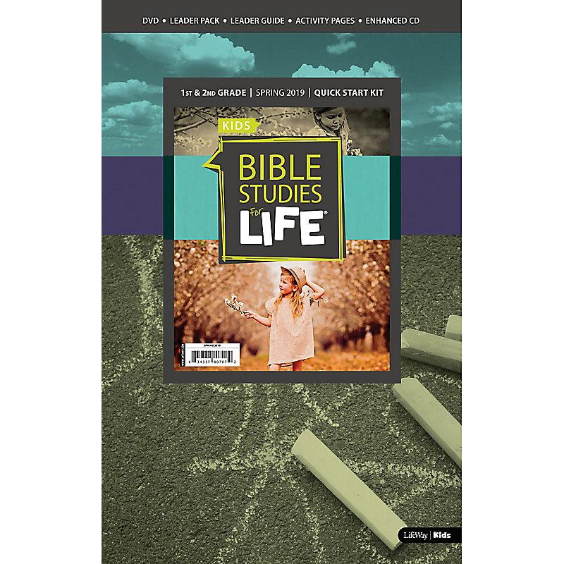 Bible Studies For Life: Kids Grades 1-2 Quick Start Kit Spring 2019
