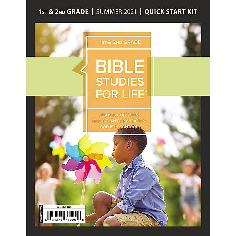 Bible Studies For Life: Kids Grades 1-2 Quick Start Kit Summer 2021