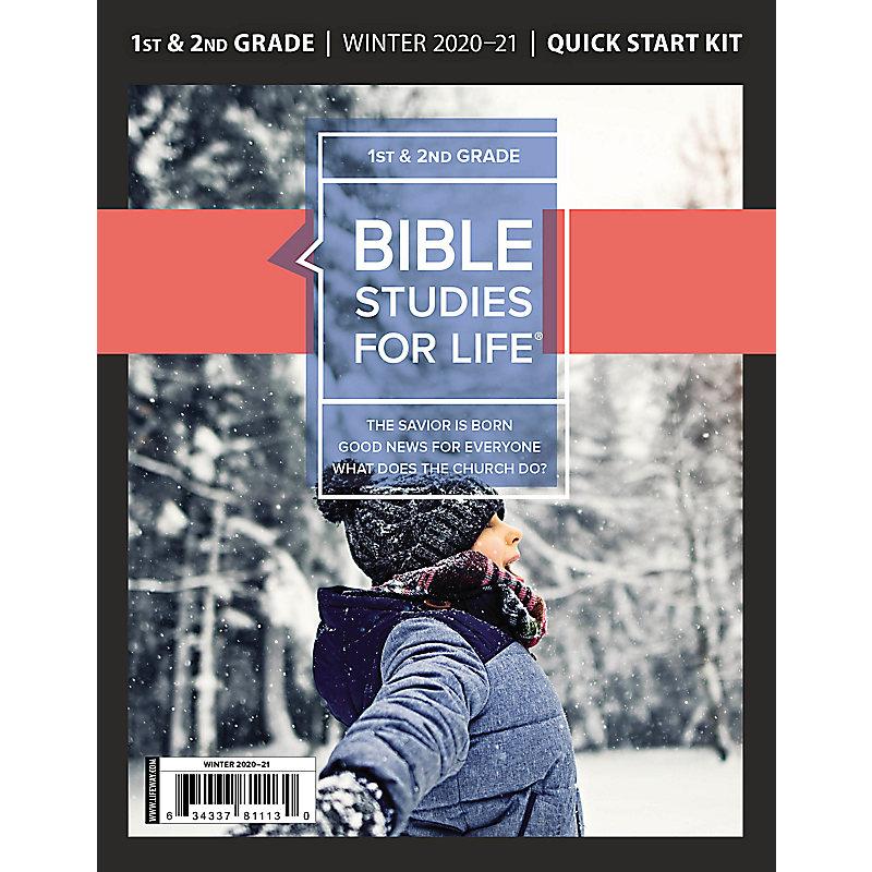 Bible Studies for Life: Kids Grades 1-2 Quick Start Kit Winter 2021