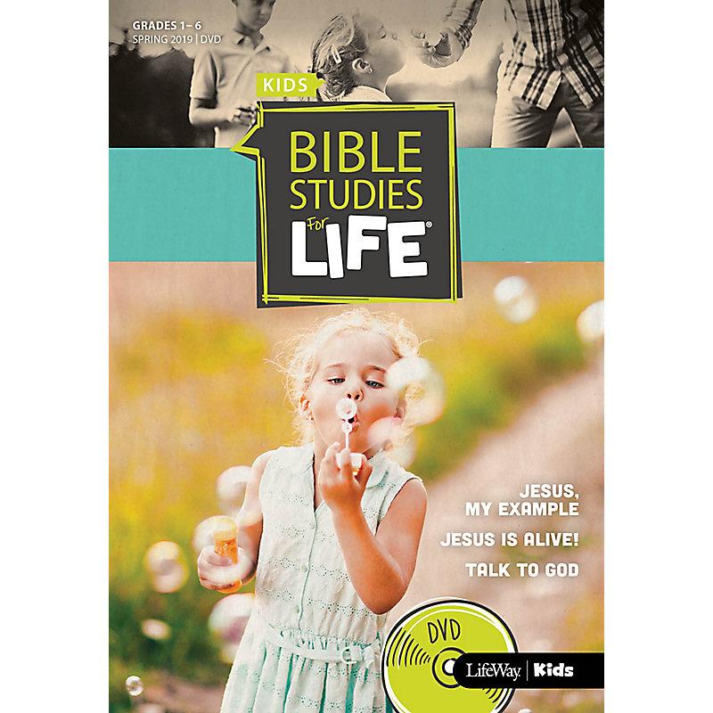 Bible Studies For Life: Kids Grades 1-6 Life Action DVD Spring 2019