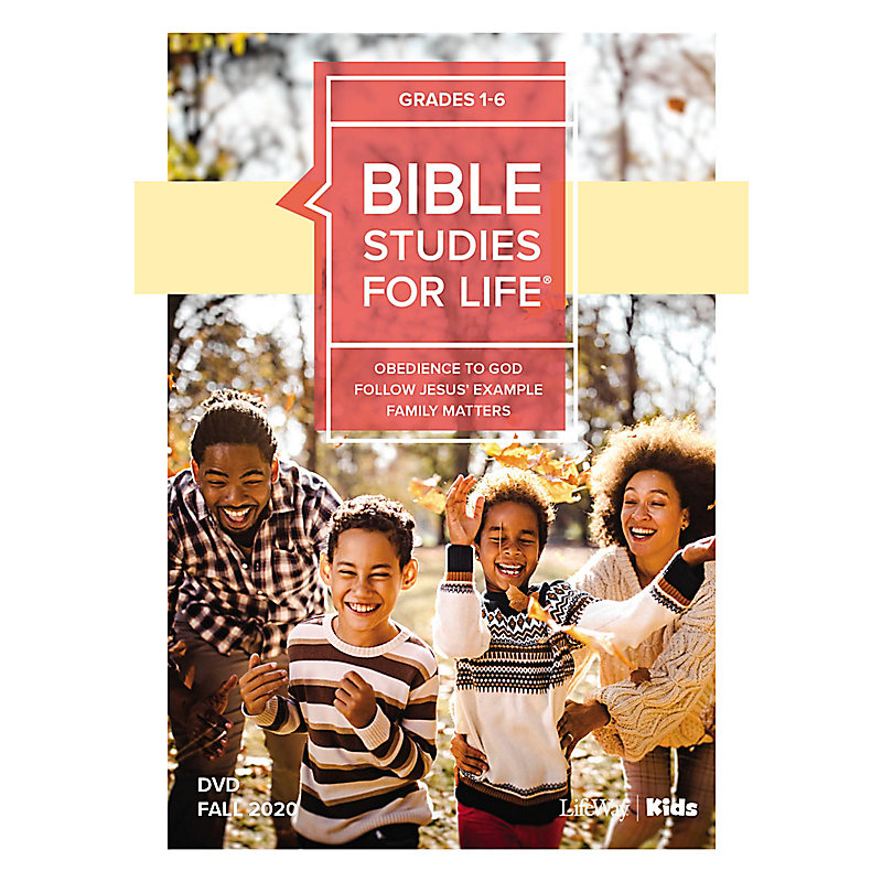 Bible Studies For Life: Kids Grades 1-6 Life Action DVD Fall 2020