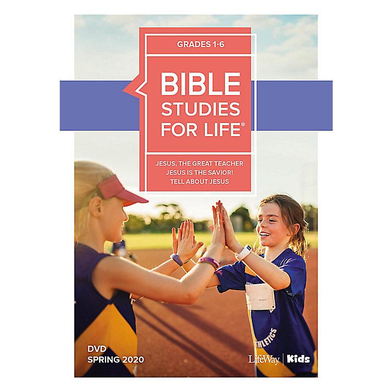 Bible Studies For Life: Kids Grades 1-6 Life Action DVD Spring 2020