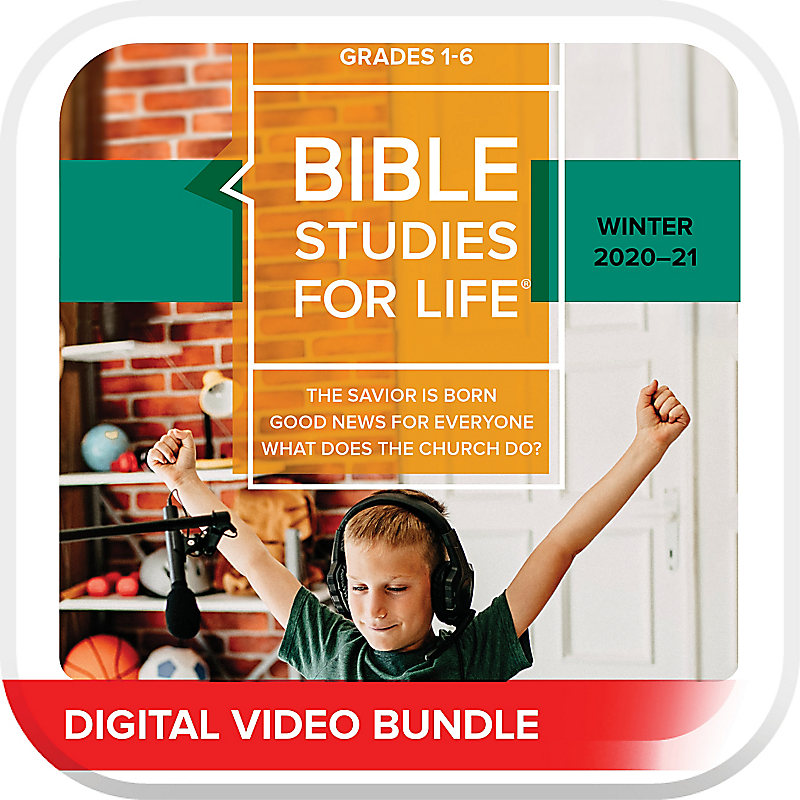 Bible Studies For Life: Kids Grades 1-6 Life Action DVD Winter 2020