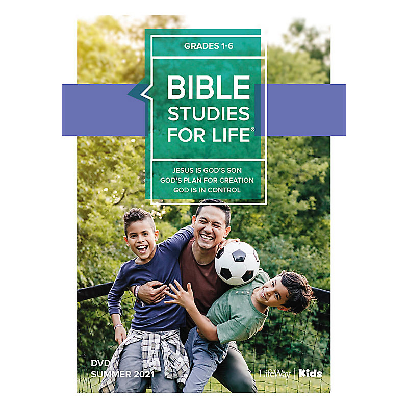 Bible Studies For Life: Kids Grades 1-6 Life Action DVD Summer 2021