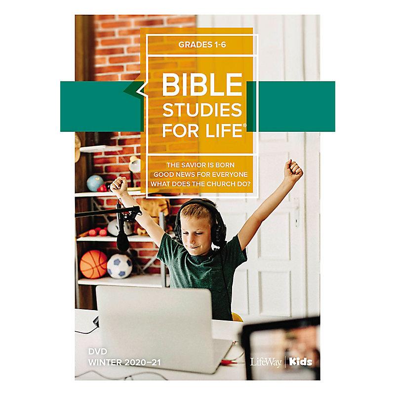 Bible Studies For Life: Kids Grades 1-6 Life Action DVD Winter 2021