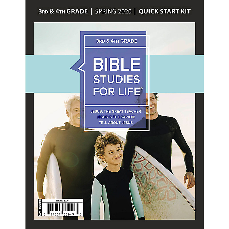 Bible Studies for Life: Kids Grades 3-4 Quick Start Kit Spring 2020