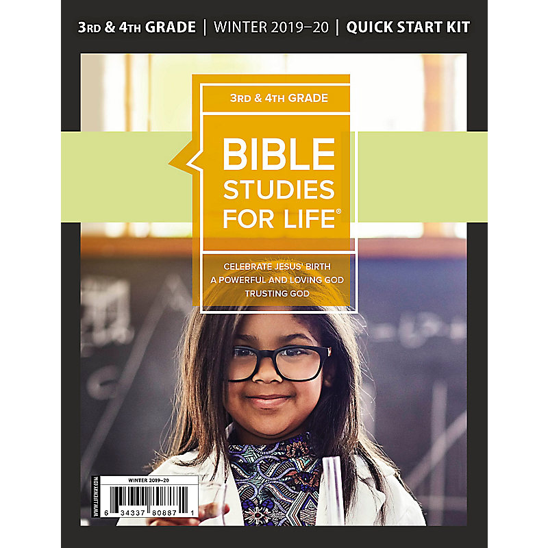 Bible Studies for Life: Kids Grades 3-4 Quick Start Kit Winter 2020