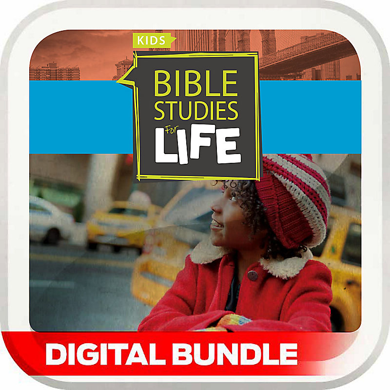 Bible Studies for Life: Kids 3rd and 4th Grade Leader Pack - Fall 2014 - Digital