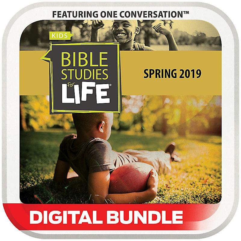 Bible Studies for Life: Kids Grades 3-4 Leader Pack Digital Spring 2019