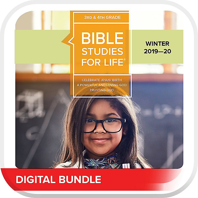 Bible Studies for Life: Kids Grades 3-4 Leader Pack Digital Winter 2020
