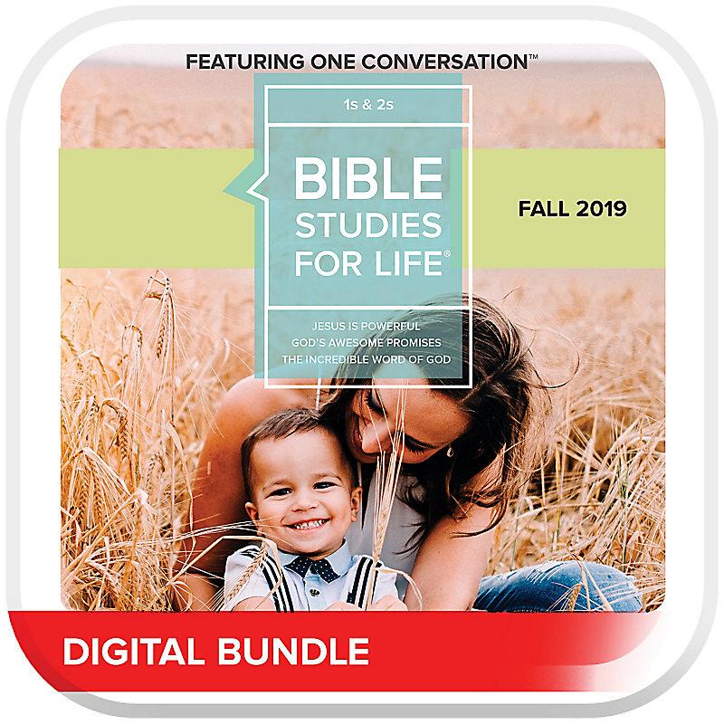 Bible Studies for Life: 1s & 2s Leader Pack Digital Fall 2019