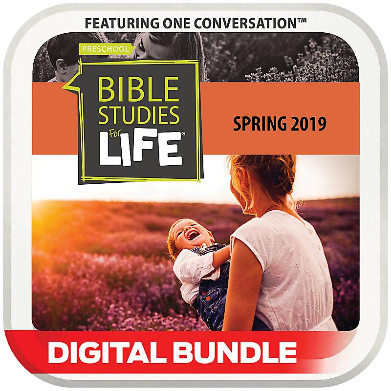 Bible Studies for Life: 1s & 2s Leader Pack Digital Spring 2019