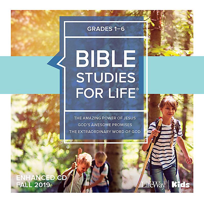 Bible Studies For Life: Kids Grades 1-6 Enhanced CD Fall 2019