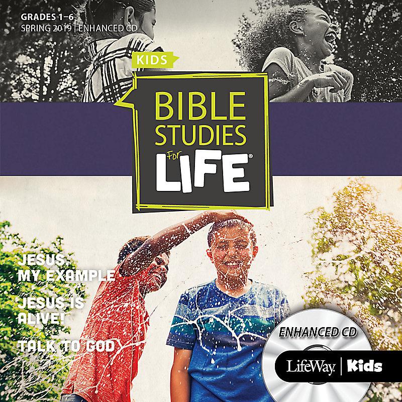 Bible Studies For Life: Kids Grades 1-6 Enhanced CD Spring 2019