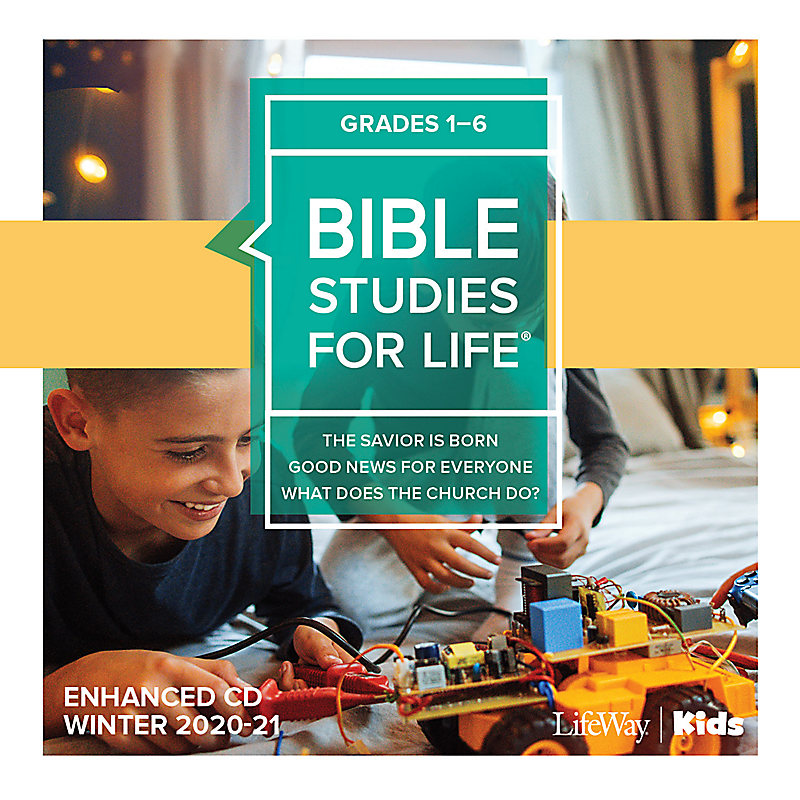 Bible Studies for Life: Kids Grades 1-6 Enhanced CD Winter 2021