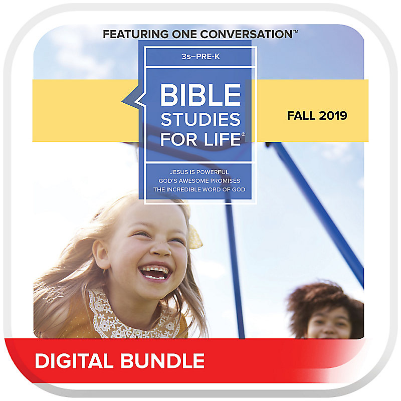 Bible Studies for Life: 3s-Pre-K Leader Pack Digital Fall 2019