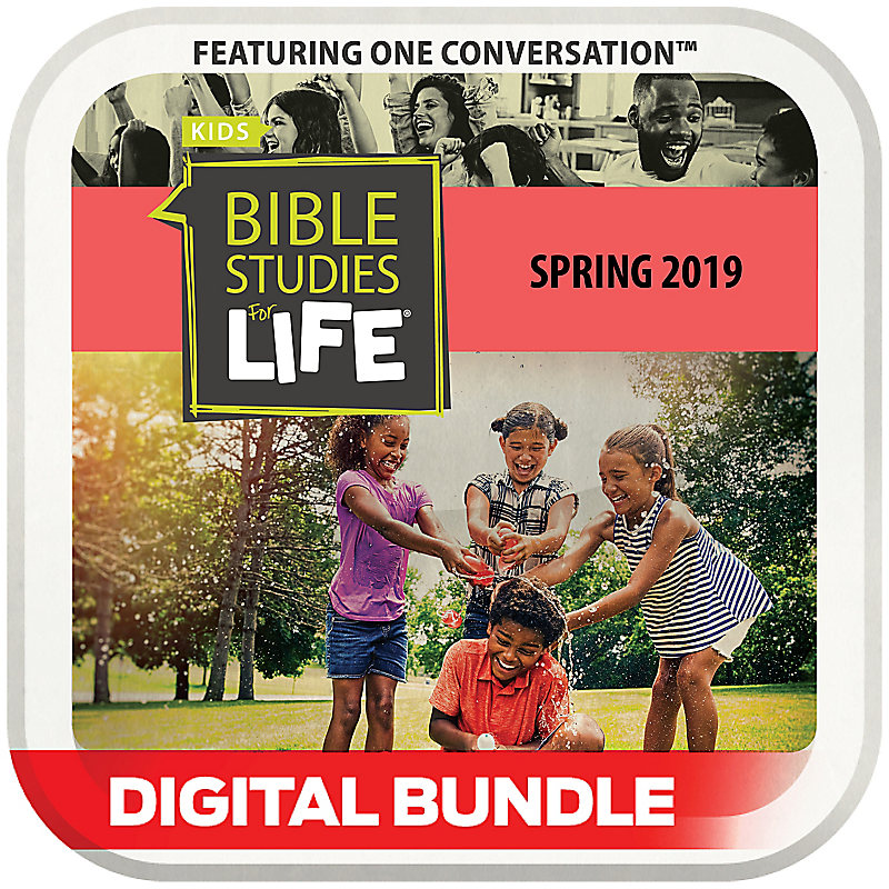 Bible Studies for Life: Kids Grades 1-3 and 4-6 Leader Guide/Activity Pages CSB/KJV Spring 2019